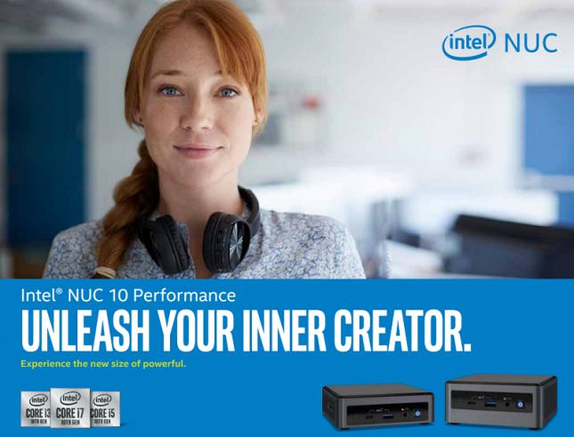 Intel NUC 10 Performance