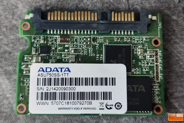 ADATA Ultimate SU750 1TB PCB