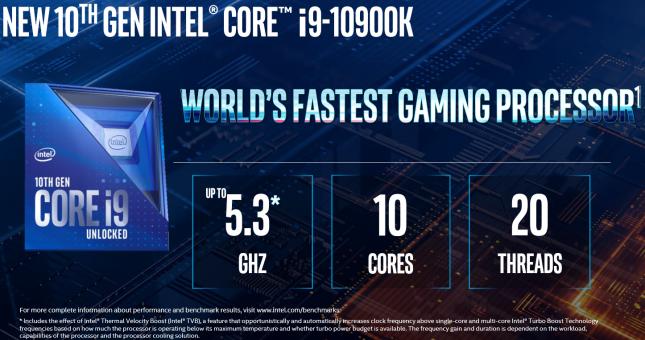 Intel 10th Gen Core Launch - Slide 5