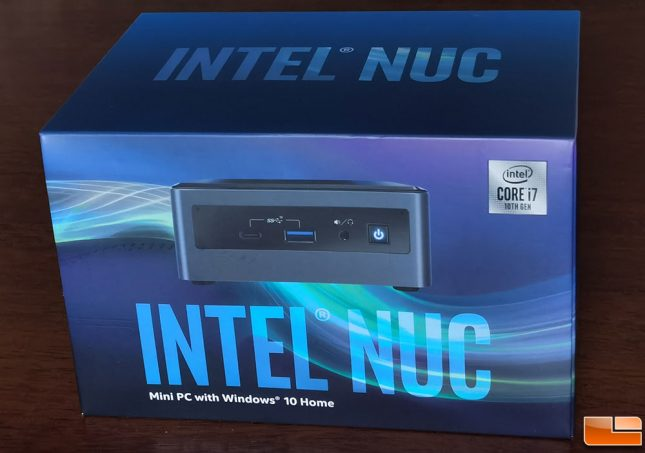 Intel NUC 10 Performance Mini PC