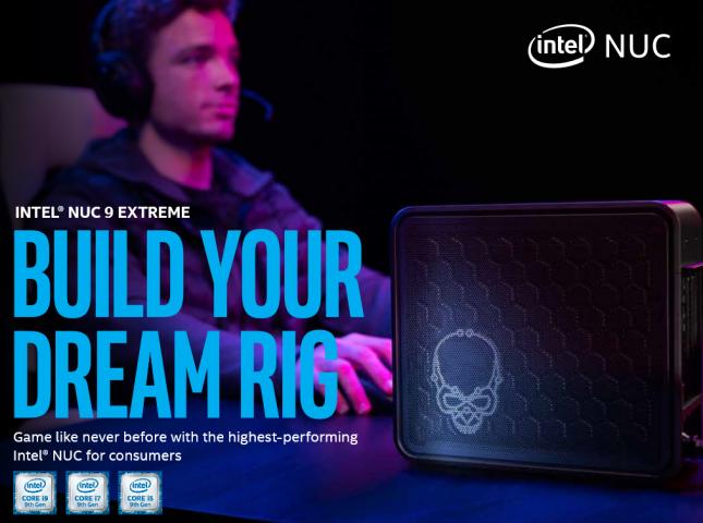 Intel NUC 9 Extreme Kit