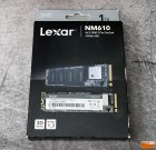 Lexar NM610 NVMe SSD Retail Packaging