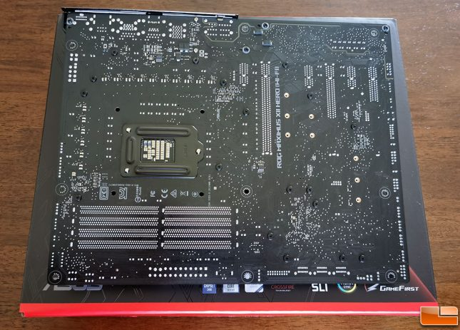 ASUS ROG MAXIMUS XII HERO WI-FI Motherboard Back