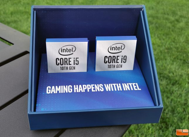 Intel Core i9-10900K Media Packaging