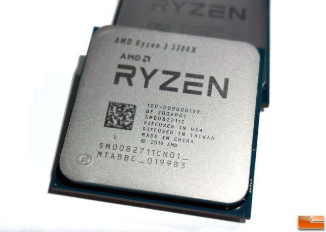 AMD Ryzen 3 3300X CPU