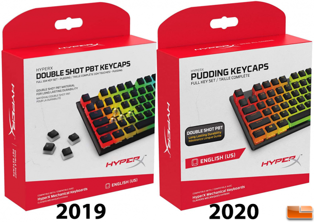 HyperX Pudding Keycaps