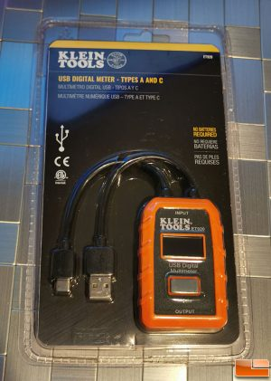 Klein ET920 USB Power Meter