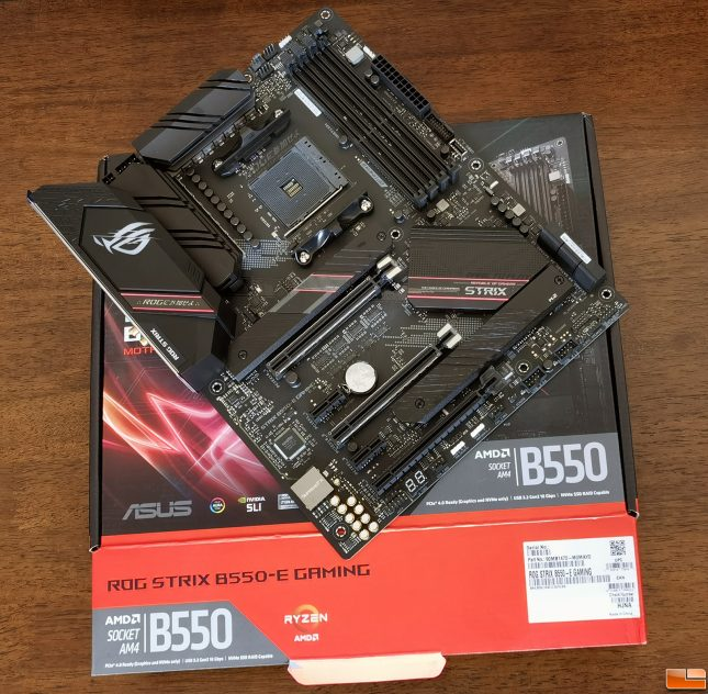 ASUS ROG Strix B550-E Gaming Motherboard