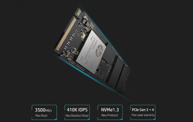 HP EX950 SSD Header
