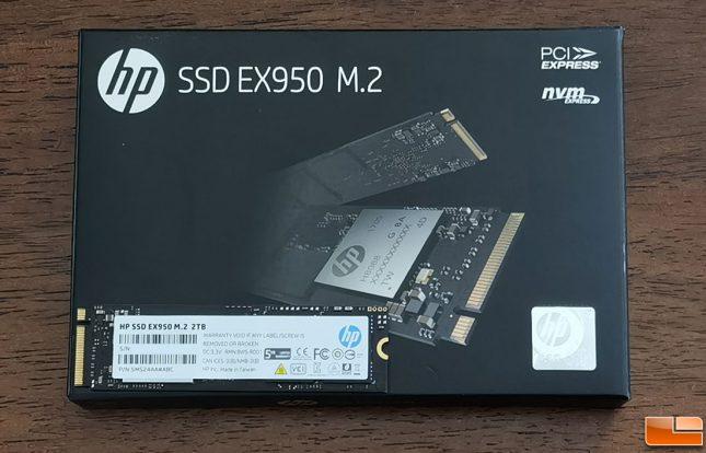 HP SSD EX950 2TB