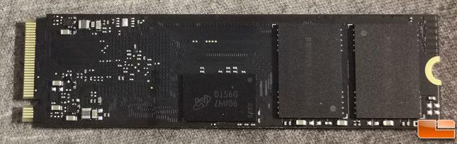 HP SSD EX950 2TB Drive PCB