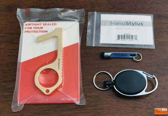 KeySmart CleanKey and NanoStylus