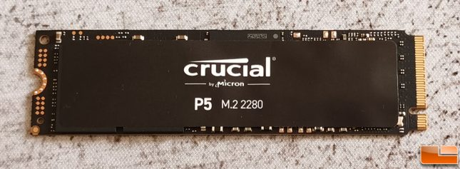 Crucial P5 SSD by Micron