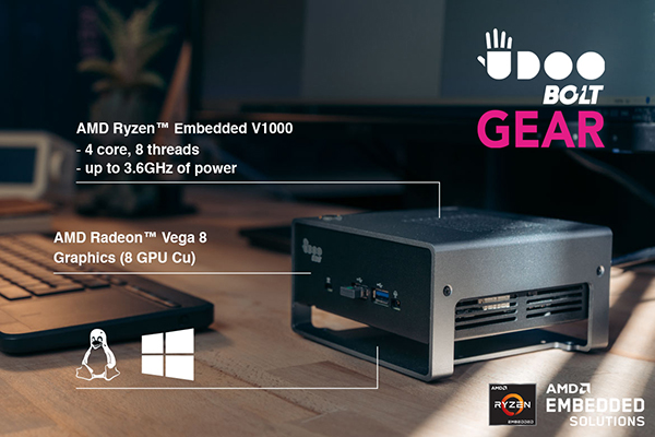 Udoo Bolt Gear Mini PC