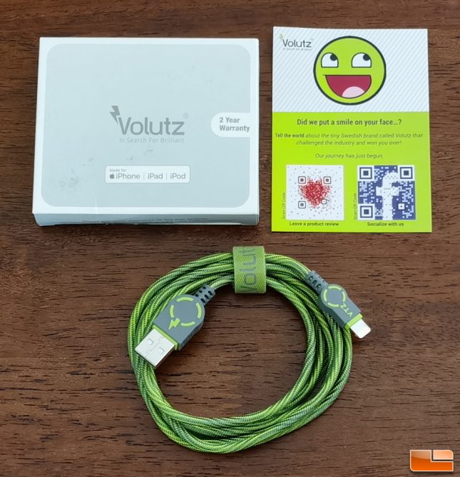 Volutz iPhone Charging Cable