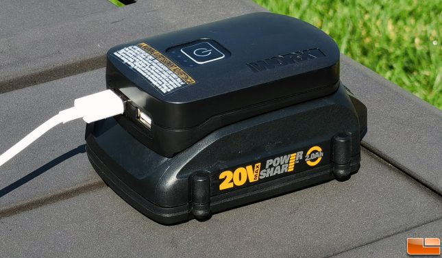 WORX 20V Battery Charger