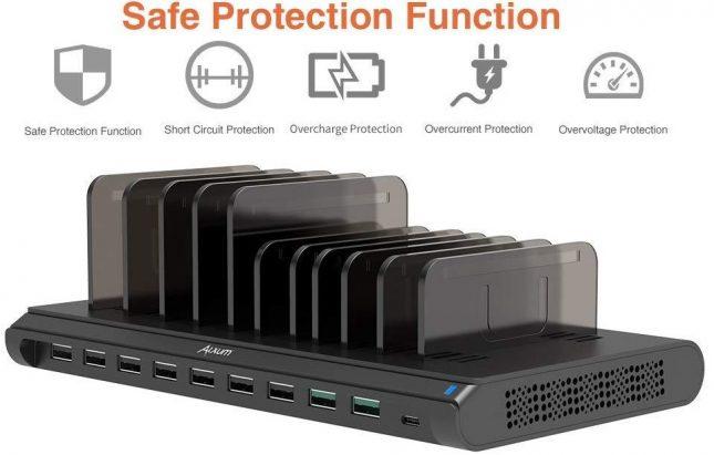 Alxum Multi USB Charger