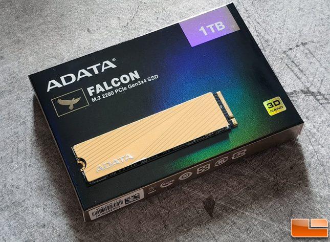 ADATA Falcon SSD - Realtek RTS5762DL Controller