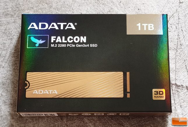 ADATA Falcon 1TB NVMe SSD Retail Box