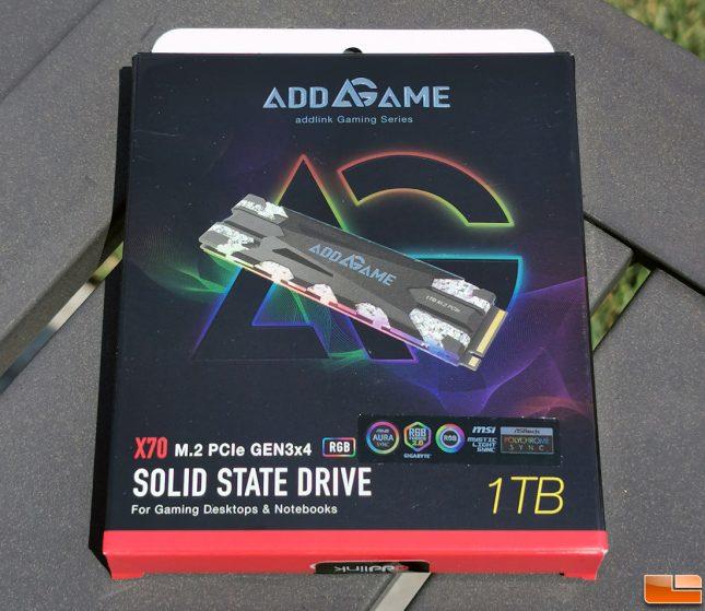 Addlink Addgame X70 RGB NVMe SSD