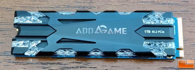 addlink X70 RGB SSD Front
