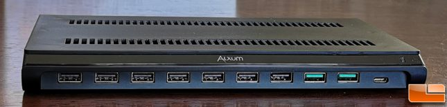 Alxum 120W 10-Port USB Smart Charging Station USB Ports