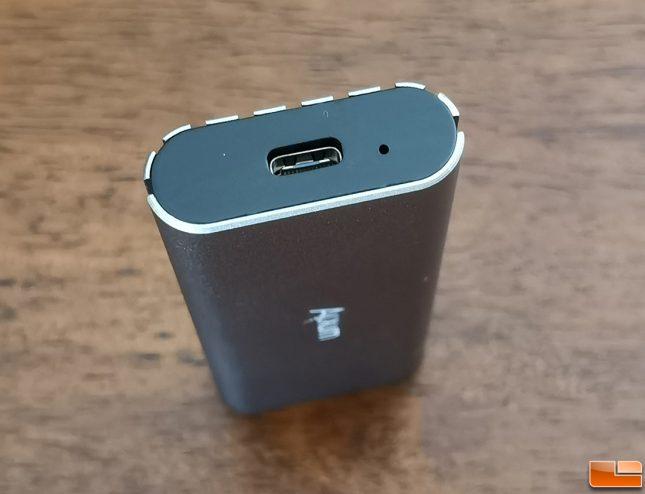 Alxum Aluminum M.2 NVME SSD Enclosure USB Type-C Port
