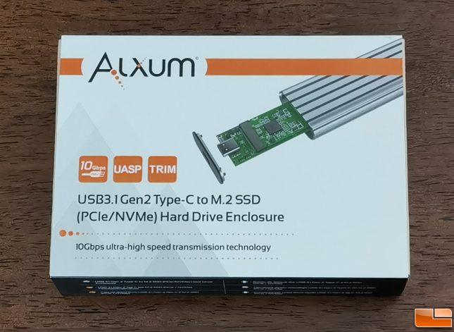 Alxum USB Type-C To M.2 Portable SSD Enclosure