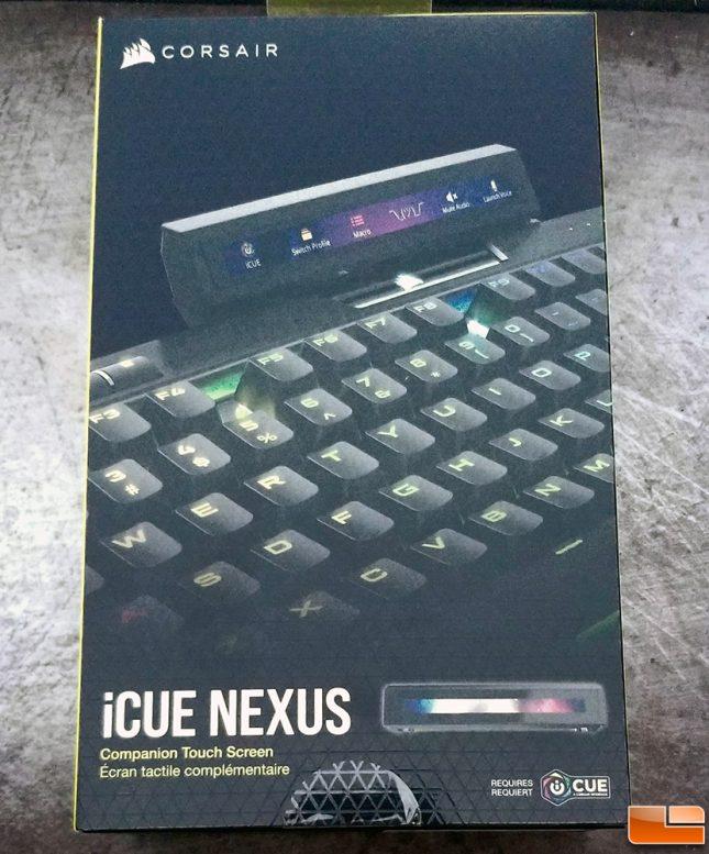 Corsair iCUE Nexus Retail Packaging