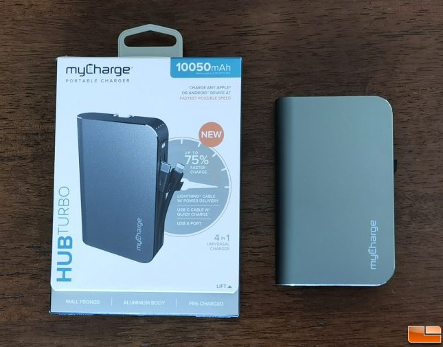 myCharge Hub Turbo Portable Charger