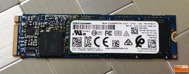 Toshiba Kioxia XG5-P 2TB NVMe SSD