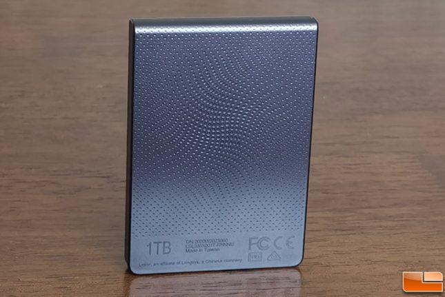 Lexar SL200 Portable SSD Back
