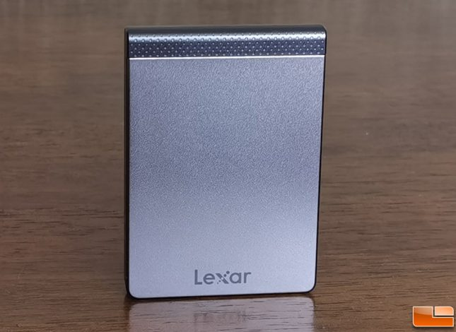 Lexar SL200 Portable SSD Front