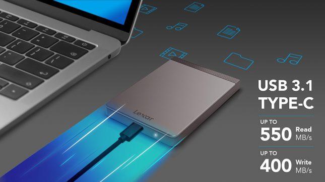 Lexar Portable SSD SL200