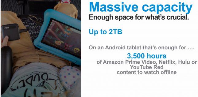 Crucial X6 Massive Capacity Tablet
