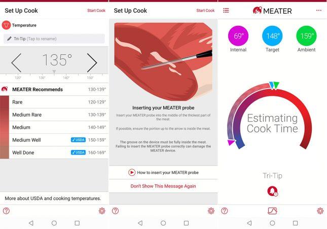 Meater App Setup Cook For Tri-Tip