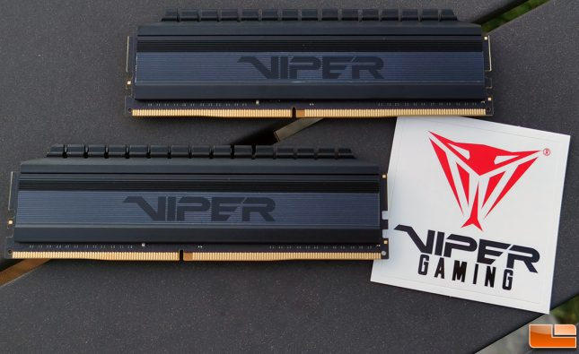Patriot Viper 4 Gaming Blackout Series16GB DDR4 4133MHz Memory Kit