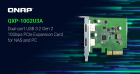 QNAP QXP-10G2U3A USB 3.2 Gen 2 Dual-port PCIe Expansion Card
