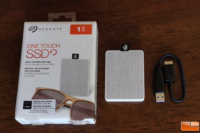 Seagate One Touch SSD 1TB Portable Drive