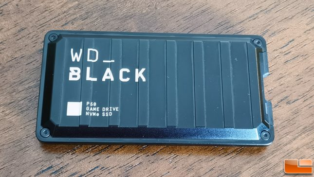 WD P50 Game Drive 1TB Portable SSD