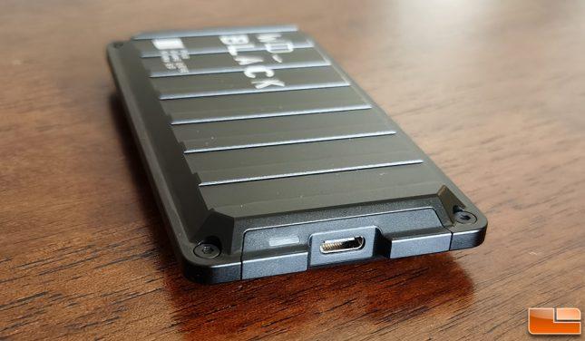 WD P50 Game Drive 1TB Portable SSD USB Type-C Port