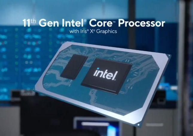 11th Gen Intel Processors Tigerlake
