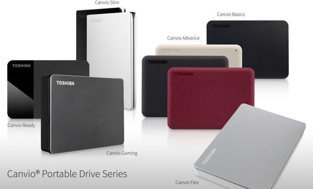 Toshiba Canvio Series 2020