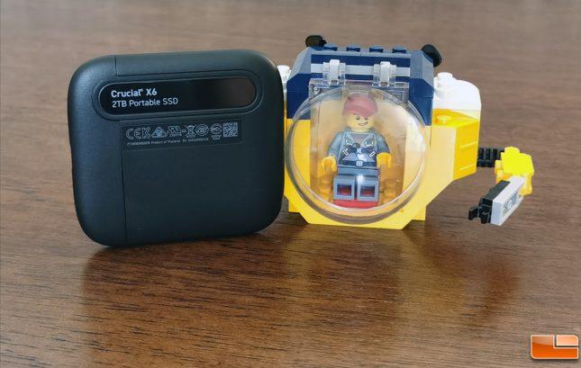 Crucial X6 Portable SSD Drive 2TB Capacity