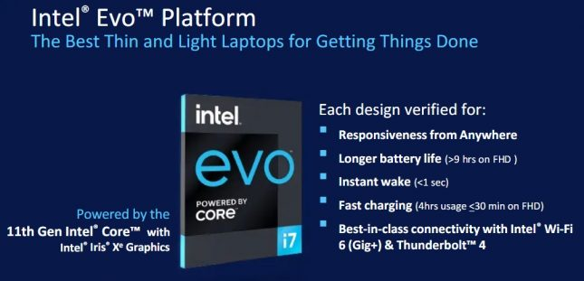 Intel EVO Processor