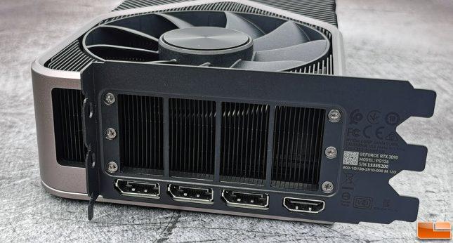 NVIDIA GeForfec RTX 3090 Video Outputs