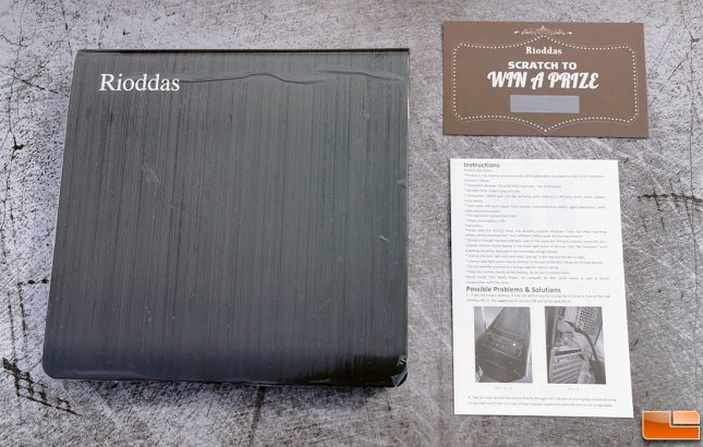 Rioddas Optical Drive