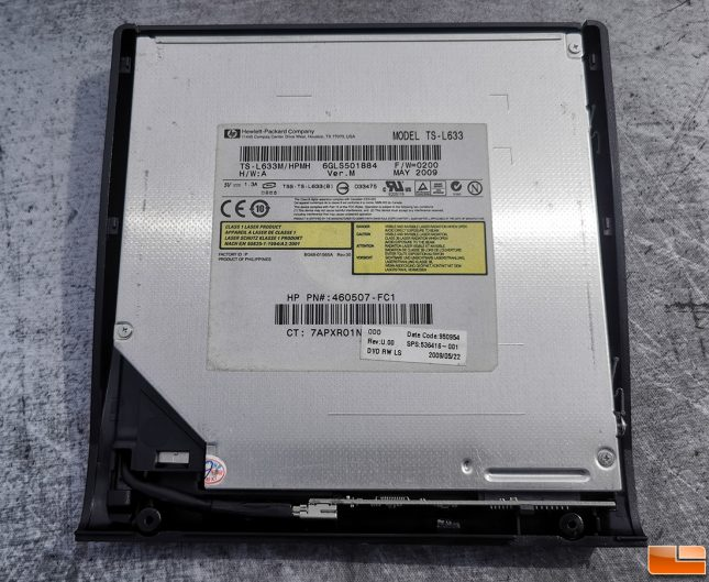 Rioddas Optical Drive Enclosure with 2009 DVD Drive