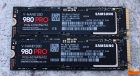 Samsung SSD 980 PRO 1TB and 500GB SSDs