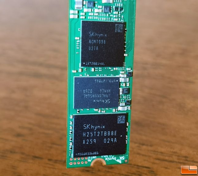 skhynix axnt038 ssd controller used on Gold P31
